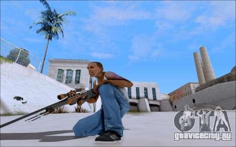 AWP Carbone Edition для GTA San Andreas третий скриншот