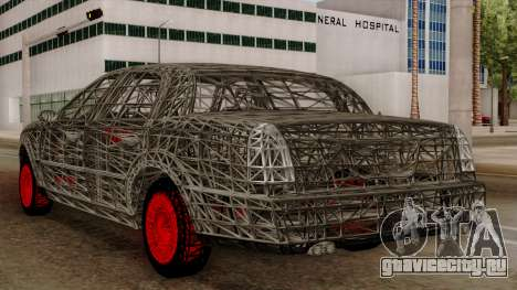 Kerdi Design Washington Roll Cage для GTA San Andreas вид сзади