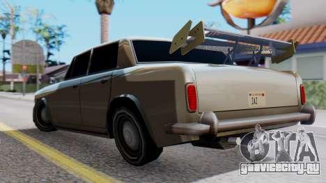 Stafford Tuning для GTA San Andreas вид слева