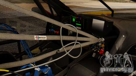 Chevrolet Corvette C7R GTE 2014 PJ2 для GTA San Andreas вид справа