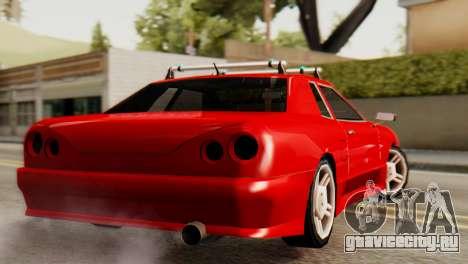 Elegy Korch Stock Wheel для GTA San Andreas вид слева