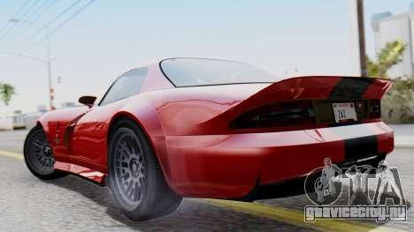 GTA 5 Banshee Dirt для GTA San Andreas вид слева