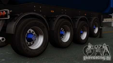 Trailer Tohap для GTA San Andreas вид сзади слева