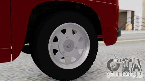 Dacia 1100 Sport для GTA San Andreas вид сзади слева