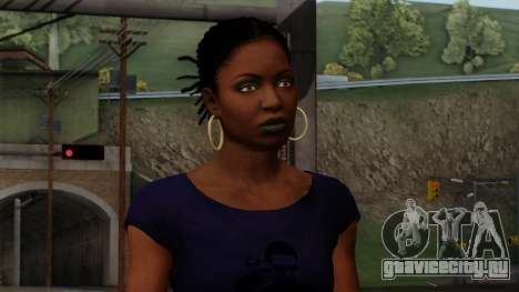 Rochelle New Textures для GTA San Andreas