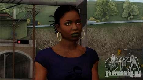 Rochelle New Textures для GTA San Andreas