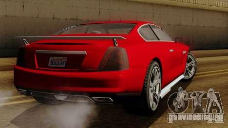GTA 5 Albany Alpha v2 для GTA San Andreas вид слева