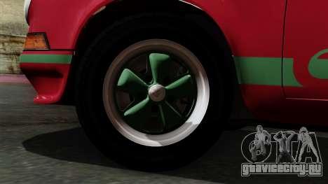 Porsche 911 Carrera RS 2.7 Sport (911) 1972 IVF для GTA San Andreas вид сзади слева