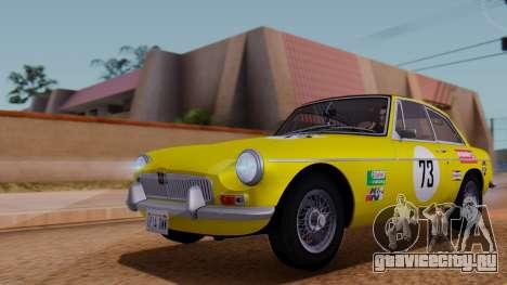 MGB GT (ADO23) 1965 HQLM для GTA San Andreas салон