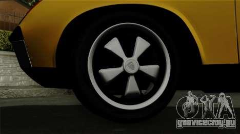 Porsche 914 1970 для GTA San Andreas вид сзади слева