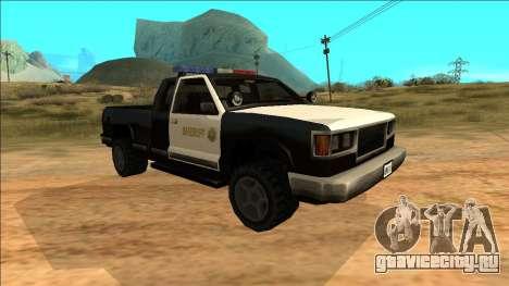 New Yosemite Police v2 для GTA San Andreas вид слева