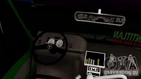 Mercedes-Benz Boxer для GTA San Andreas вид справа