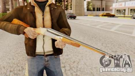 Полная версия двуствольного ружья для GTA San Andreas третий скриншот