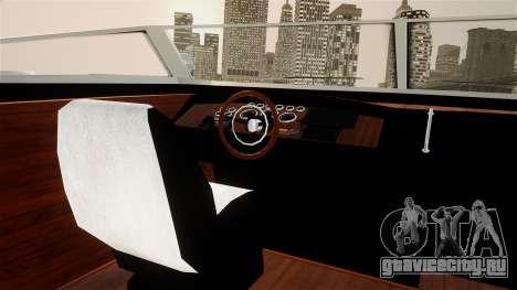 Lampadati Toro from GTA 5 для GTA 4 вид справа