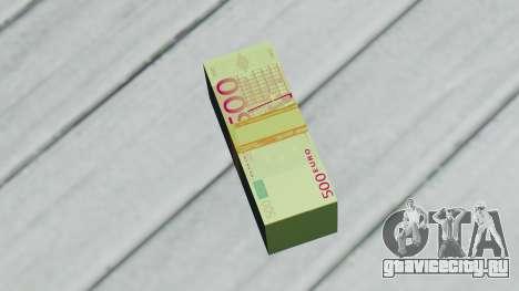 500 Евро для GTA San Andreas второй скриншот