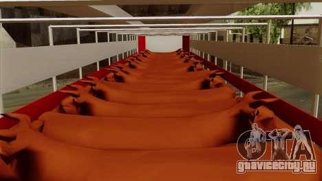 Trailer Cows для GTA San Andreas вид сзади