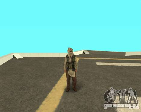 Новый армеец для GTA San Andreas