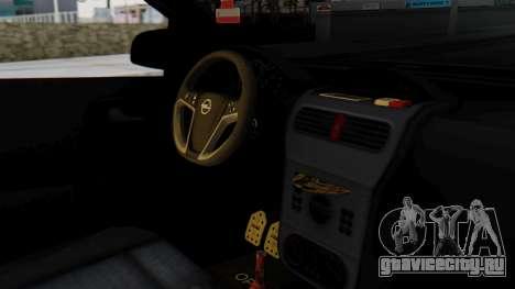 Opel Corsa Air для GTA San Andreas вид справа