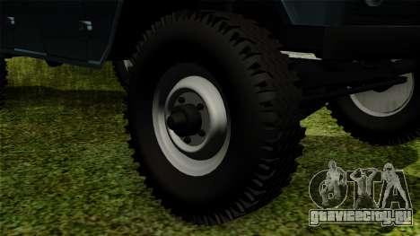 УАЗ-3151 для GTA San Andreas вид сзади слева