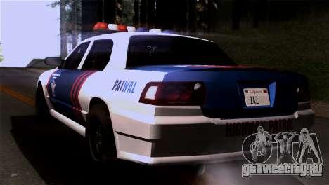Indonesian Police Type 2 для GTA San Andreas вид слева