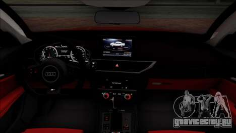 Audi RS7 2014 для GTA San Andreas вид сбоку