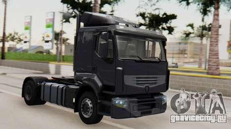 Renault Premuim 4x2 для GTA San Andreas