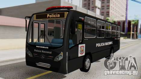 Mercedes-Benz Neobus Paraguay National Police для GTA San Andreas