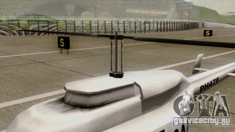 Rain Dance Maverick для GTA San Andreas вид справа