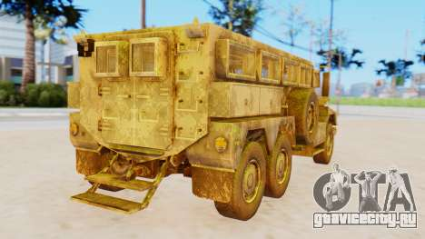 MRAP Cougar from CoD Black Ops 2 для GTA San Andreas вид слева