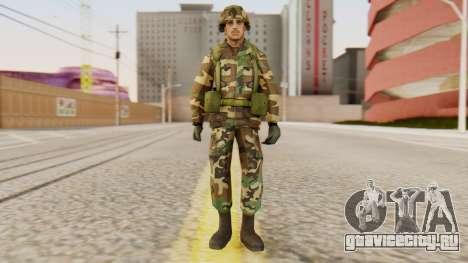 Солдат армии США для GTA San Andreas второй скриншот