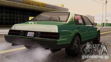 GTA 5 Albany Esperanto для GTA San Andreas вид слева