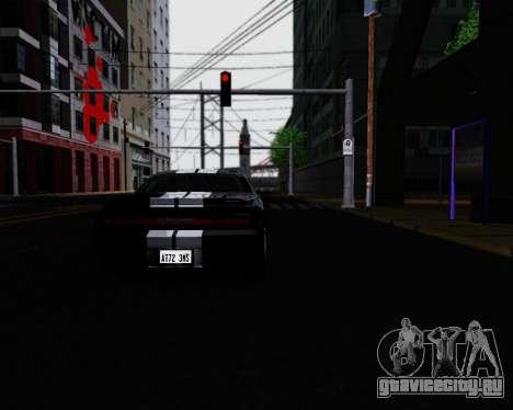 ENB for Low PC для GTA San Andreas второй скриншот