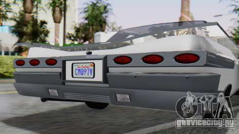 GTA 5 Declasse Voodoo для GTA San Andreas вид сзади