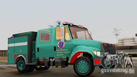 SACFR International Type 3 Rescue Engine для GTA San Andreas вид справа