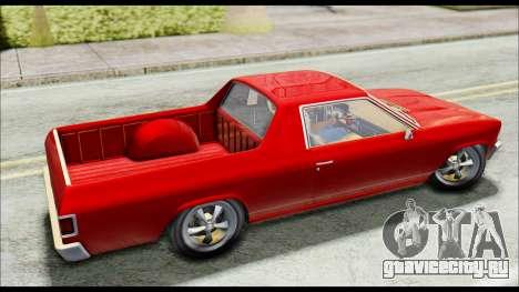 GTA 5 Cheval Picador для GTA San Andreas вид сзади слева
