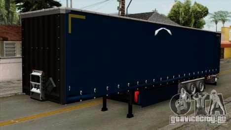 Trailer Krone Profiliner v2 для GTA San Andreas