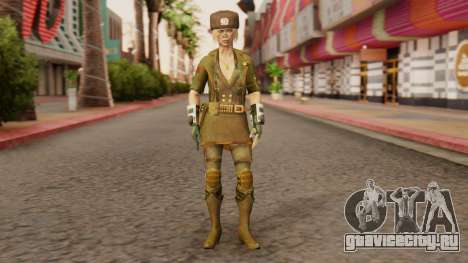 Sonya Motherland [MKX] для GTA San Andreas второй скриншот