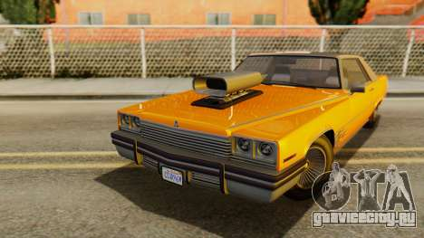 GTA 5 Albany Manana для GTA San Andreas