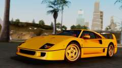 Ferrari F40 1987 without Up Lights