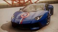 Lamborghini Aventador LP 700-4 Captain America
