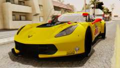 Chevrolet Corvette C7R GTE 2014 PJ2 для GTA San Andreas