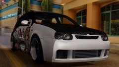 Volkswagen Golf R32 JDM Itasha для GTA San Andreas