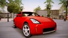 Nissan 350Z SA Style для GTA San Andreas
