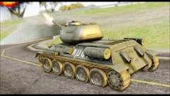 Real 102 Rudy Poland Tanks для GTA San Andreas