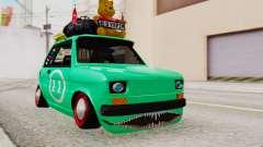 Fiat 126 bis B.O. Yapım для GTA San Andreas