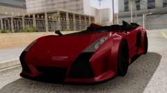 Lamborghini Gallardo J Style для GTA San Andreas