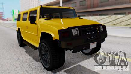 GTA 5 Patriot для GTA San Andreas