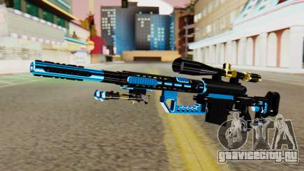 Fulmicotone Sniper Rifle для GTA San Andreas