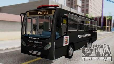 Mercedes-Benz Neobus Paraguay National Police для GTA San Andreas