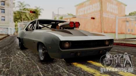 Chevrolet Camaro Drag Street для GTA San Andreas